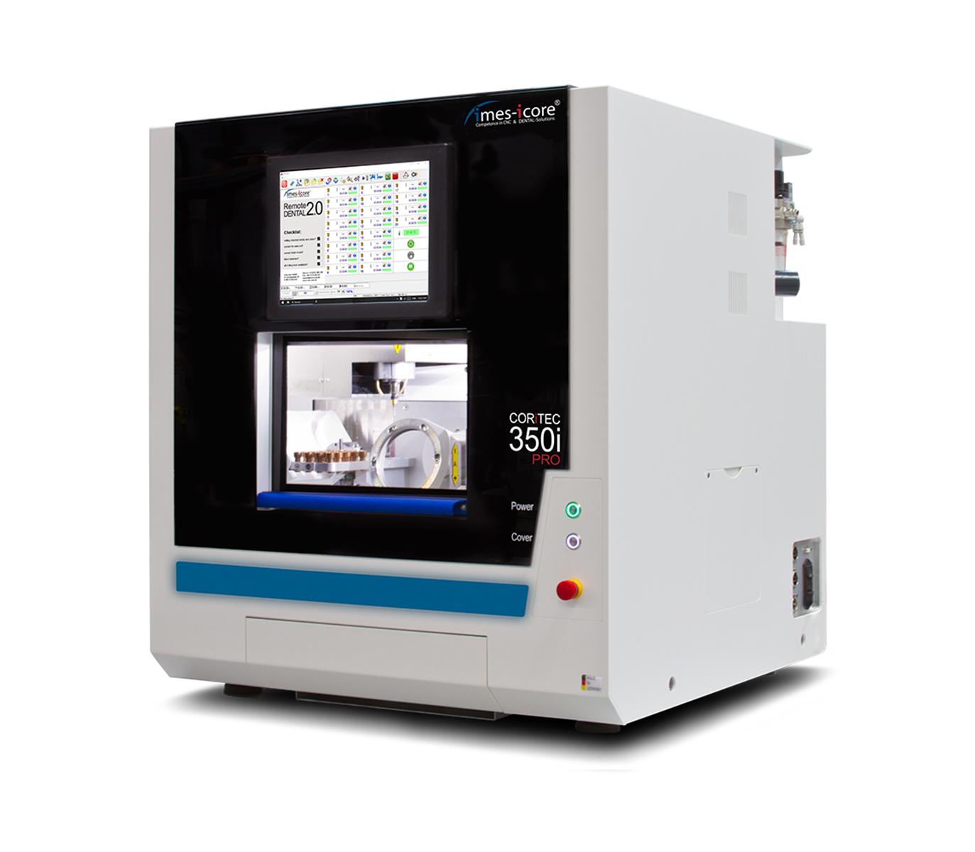Fresadora CAD CAM / para laboratorio dental / 5 ejes CORiTEC 350i PRO / Todo en uno