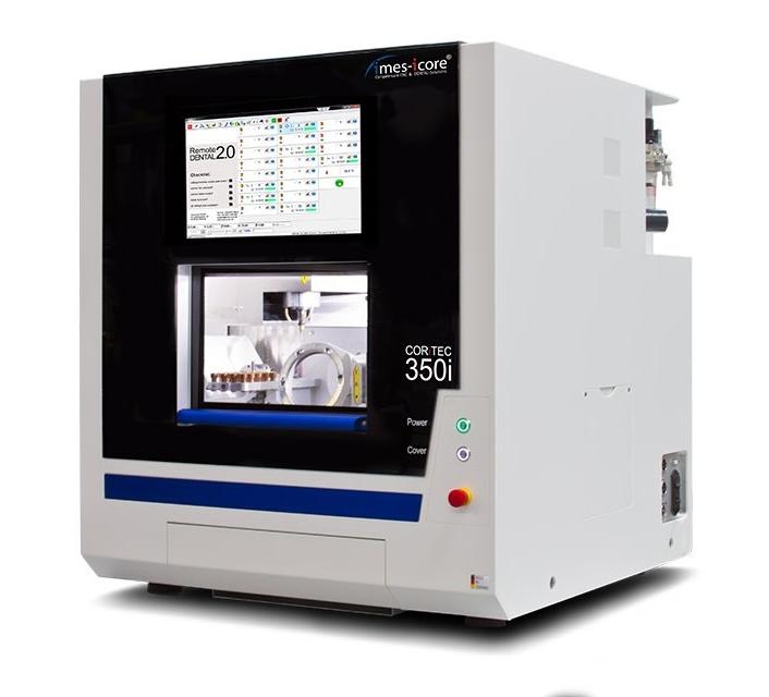 Fresadora CAD CAM / para laboratorio dental / 5 ejes CORiTEC 350i / Todo en uno